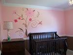 Posh Nursery Mural