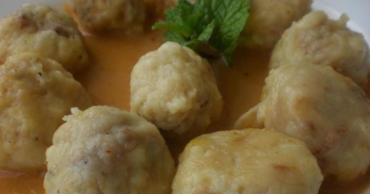 El rinc n de mami alb ndigas de patata y morcilla patatera - Acompanamiento para albondigas ...