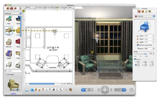 3d interior design software for Interior design layout tool