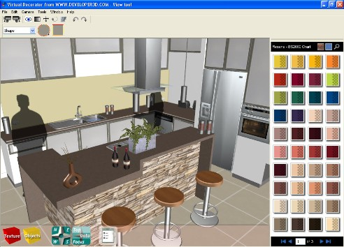 Decorations millenium interior design 3d interior design for Interior planning software