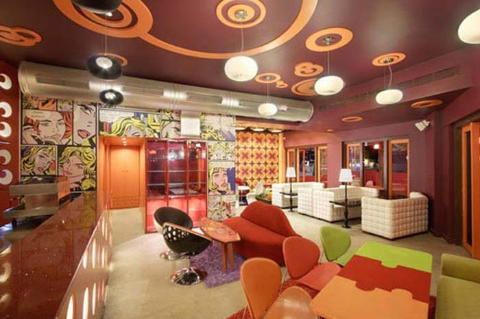 Cafe Interior Design  Fullcolor Interior Design