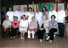 LOS HOMENAJEADOS EN LA TRANSMISION DE MANDO 2009 - 2010