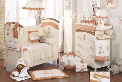 Dormitorios infantiles recamaras para bebes y ni os cunas - Dormitorio bebe nina ...