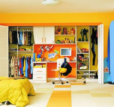 Para el niño o niña, ayuda a mantener orden y espacio en la