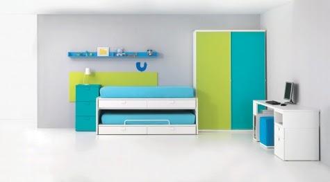 Dormitorios infantiles recamaras para bebes y ni os kiona - Dormitorios infantiles dobles ...