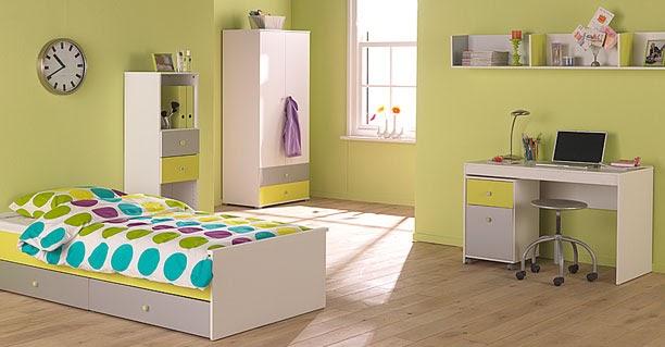 Dormitorios infantiles recamaras para bebes y ni os for Dormitorios verde agua
