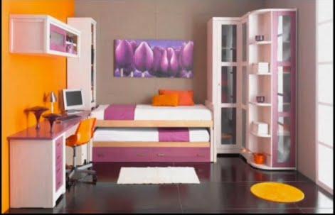 Dormitorios infantiles recamaras para bebes y ni os - Camas pegadas ala pared ...