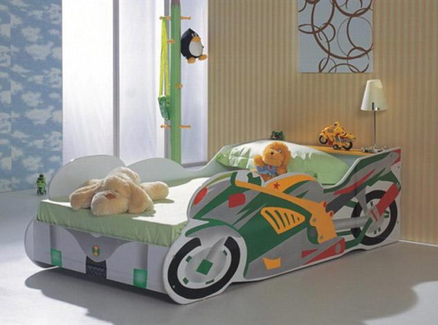 Dormitorios infantiles camas infantiles tematicas para ni os - Camas infantiles nino ...