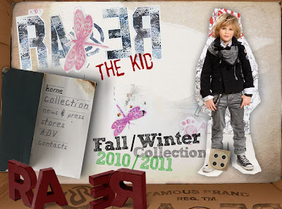RA.RE THE KIDS MODA NIÑOS 2011