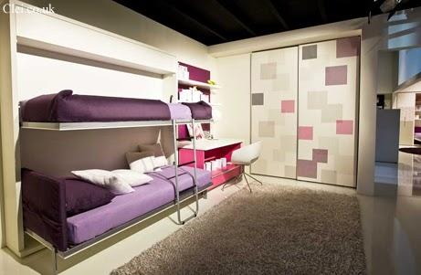 Dormitorios infantiles recamaras para bebes y ni os dormitorio compartido peque o - Dormitorios infantiles pequenos ...