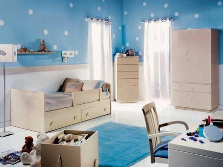 Dormitorios infantiles para espacios pequeños