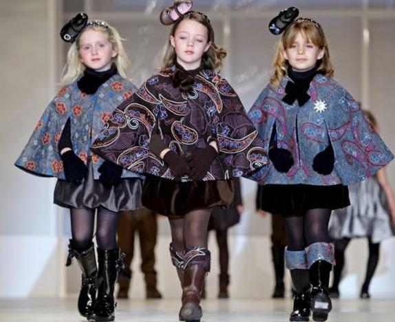 Modelos de vestidos de invierno para ninas