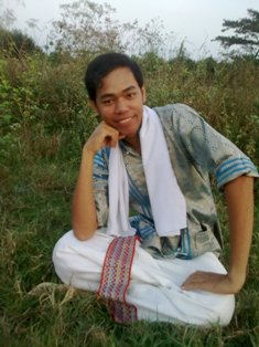 Putra in Cham Pandurangga traditional costumes