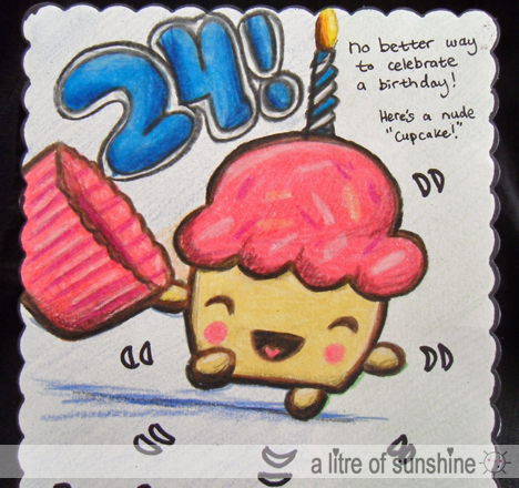 a litre of sunshine Birthday cards for me – Awesome Birthday Cards
