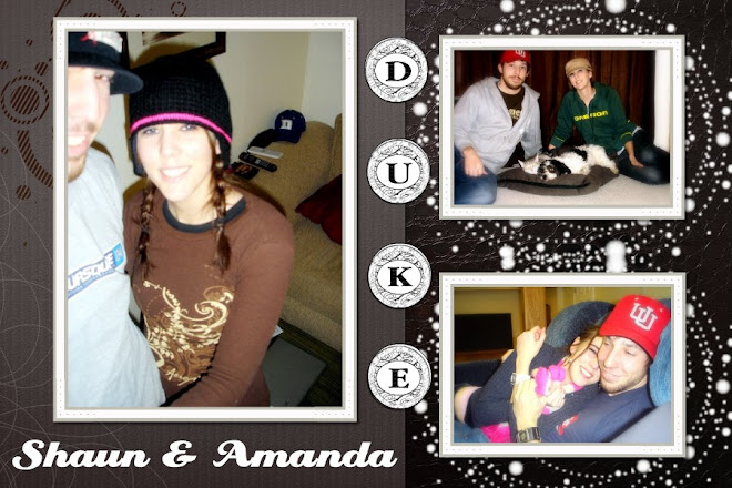 Amanda and Shaun