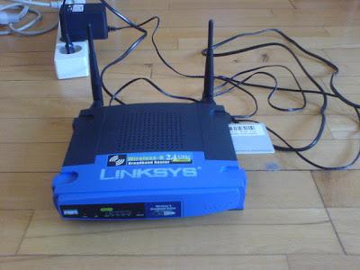 router El Router Linksys WRT54GL permite trabajar como Server en  Cardsharing
