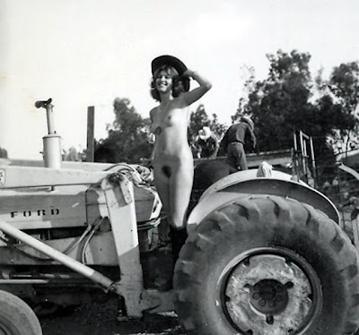 Tractor vintage porn theme interesting