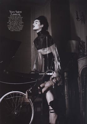 Crystal Renn by David Sims for Vogue Paris August 2010, part 2