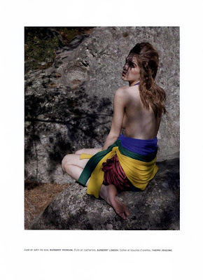 Samantha Gradoville by Viviane Sassen for Numero #115 August 2010, part 2