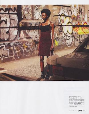 Georgie Baddiel by Laurie Bartley for Elle US September 2010