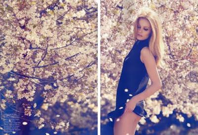 Beauty Edita Vilkeviciute by Camilla Akrans for Numero #116 September 2010…Divine Idylle
