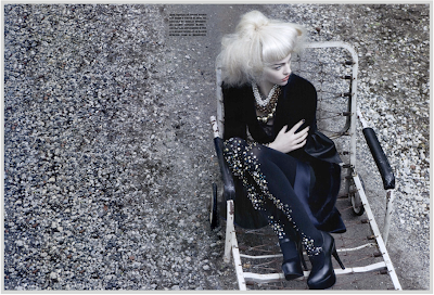 It´s a matter of glam…Wonderful Editorial by Craig McDean, styled by Edward Enninful