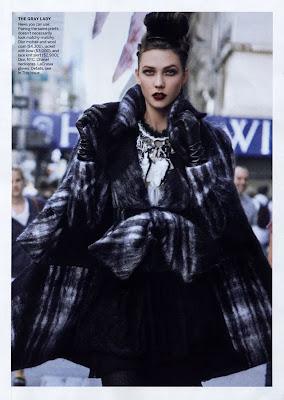 Karlie Kloss by Peter Lindbergh for Vogue US September 2010, part 2