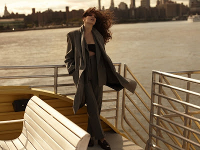 Missy Rayder by Laurie Bartley for Harpers Bazaar UK October 2010