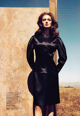 Karmen Pedaru by Camilla Akrans for Harpers Bazaar September 2010, part 2