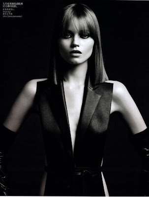 Abbey Lee Kershaw by Hedi Slimane for Vogue China August 2010, part 2