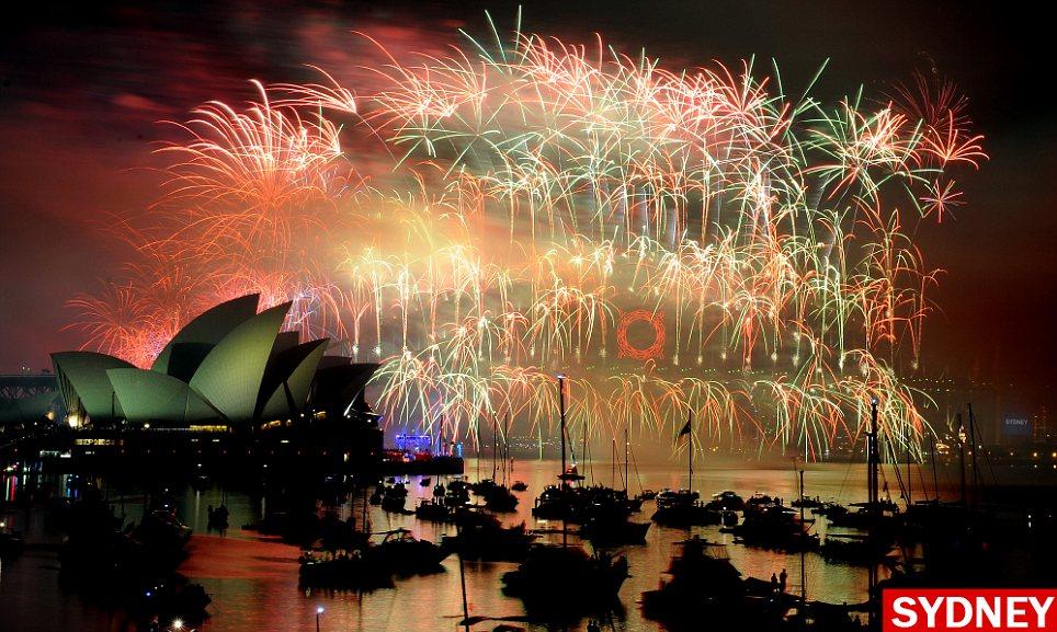 inilah pesta kembang api terbaik menakjubkan