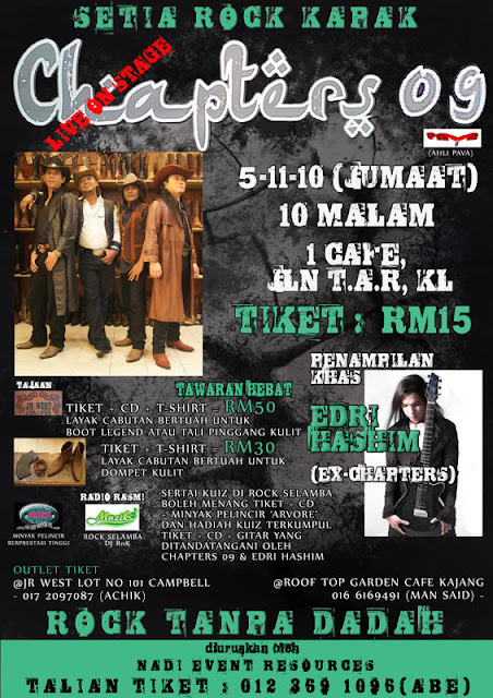 """Event: Chapters09 """"Live On Stage"""" 2010"""