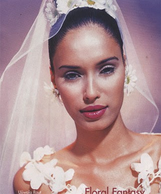 Bridal Hairstyle African American Wedding Hairstyles & Hairdos: Updo with