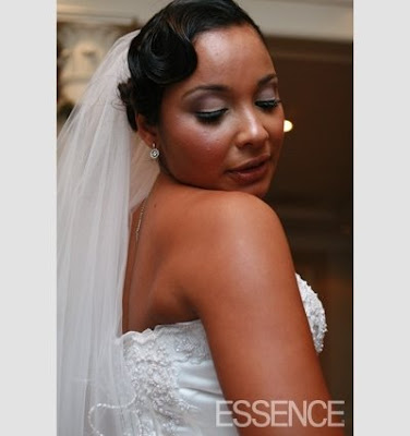 African American Wedding Hairstyles & Hairdos: October 2008
