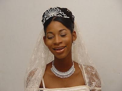 African American Wedding Hairstyles Hairdos Real Bride Updo