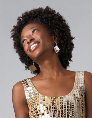 African American Wedding Hairstyles & Hairdos: Straw Set for the Natural