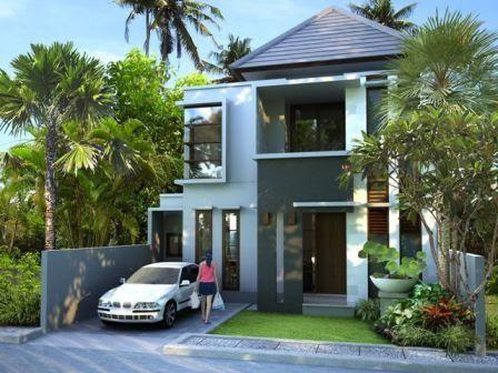 rumah 2 lantai minimalis on TEMPATNYA JUAL BELI RUMAH DI BALI: Rumah Minimalis Lantai 2 di ...