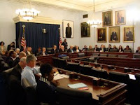 congress oil executives hearing testimony April 2008