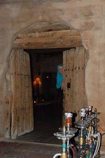 Pat 2000 year Old Nabataean Cave Petra Jordan