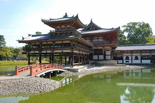 Phoenix Hall at Byodo-in Temple, Japan
