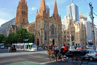Exciting Mix Old and New Melbourne Australia