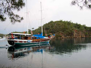 Our Gulet Boat out of Bodrum, Turkey