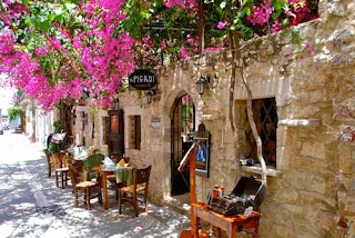 Restaurant - Rethymno, Crete, Greece