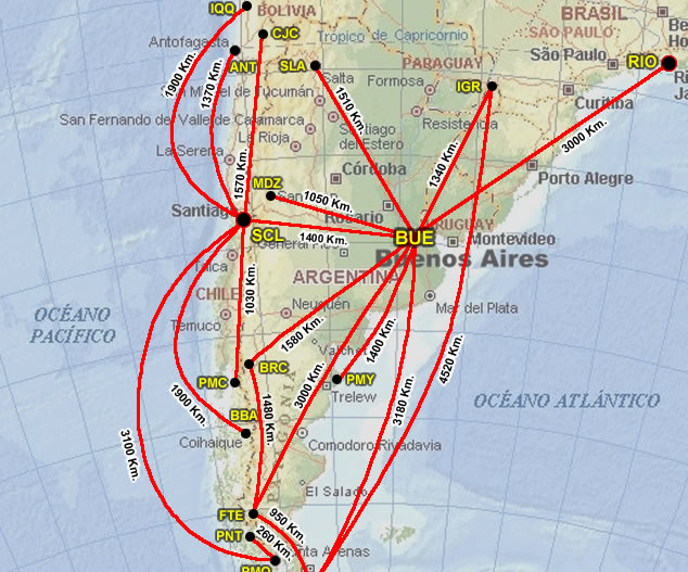 lineas mexicanas:
