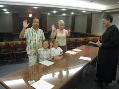 Getting Sworn in
