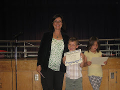 Parker gets a Teacher Award