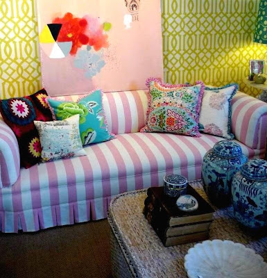 pink stripe sofa cover backroads and barstools oh my goodness pink striped sofa