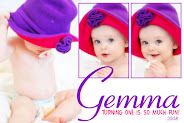 Gemma is turning one!!