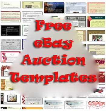 Great Sites To Get Beautiful Free EBay Auction Templates Web - Ebay website template