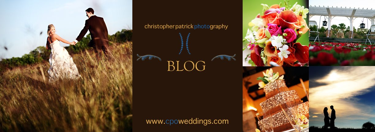 Christopher Patrick Photography - Orlando Wedding Photography Blog